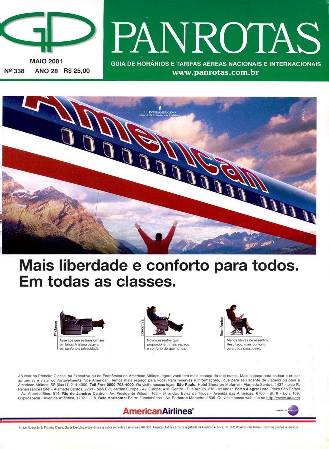 Guia Panrotas - Edição 338 - Maio 2001 by PANROTAS Editora - issuu 0d69242c2992a