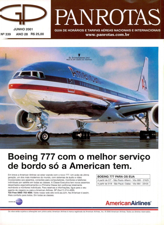 Guia Panrotas - Edição 339 - Junho 2001 by PANROTAS Editora - issuu 9fd33017278