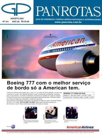 c3e20b1f6c57a Guia Panrotas - Edição 341 - Agosto 2001 by PANROTAS Editora - issuu