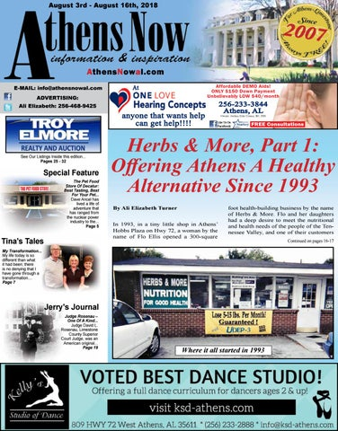 Athens Now August 3, 2018 by Athens Shop Local - issuu