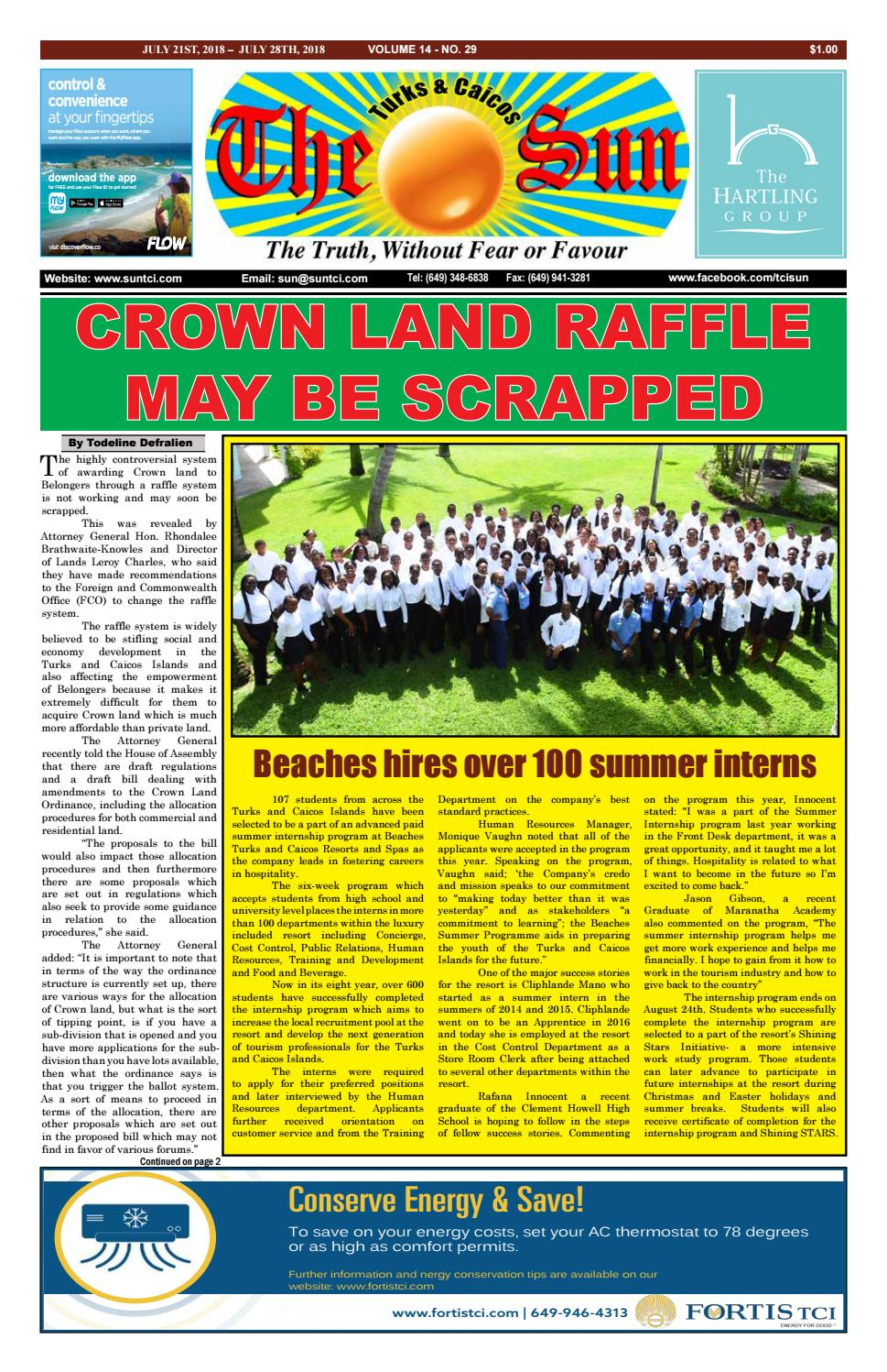 VOLUME 14 ISSUE 29 by The SUN Newspaper - issuu ebc96d36b