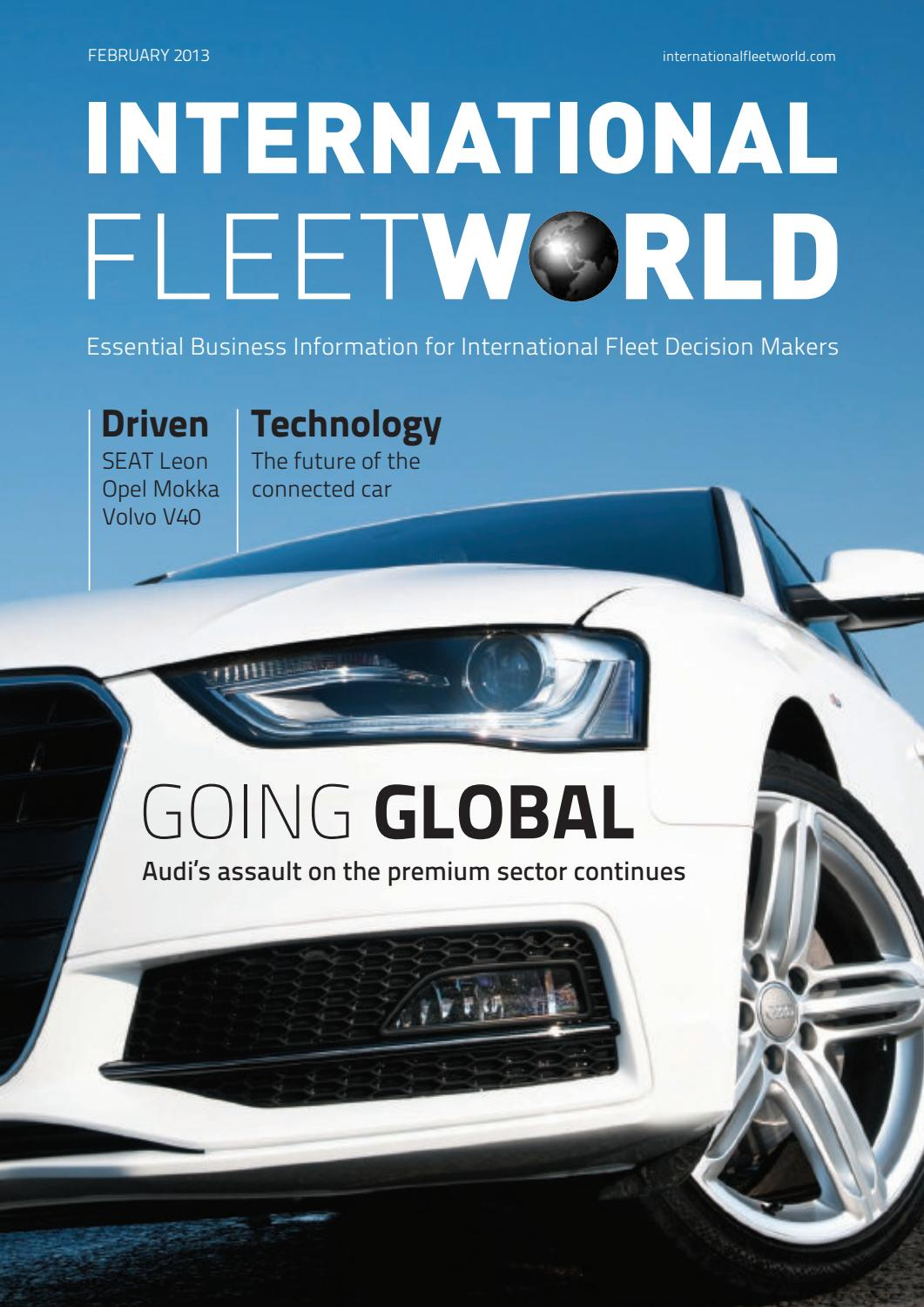 Surprising International Fleet World February 2013 By Fleet World Group Uwap Interior Chair Design Uwaporg