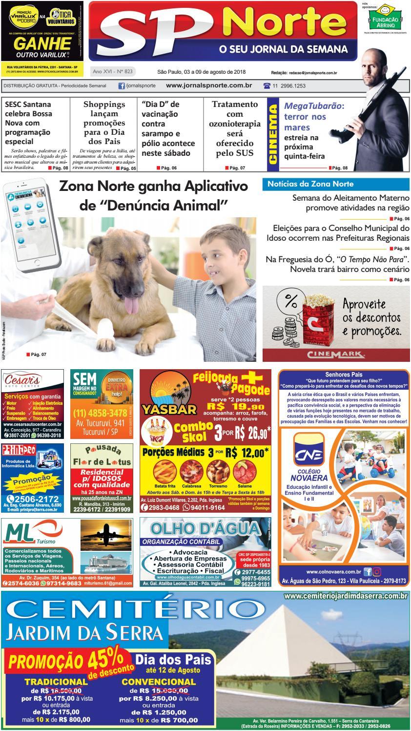 a630d421bd1d4 823 - 03 a 09 de agosto de 2018 by Jornal SP Norte - issuu