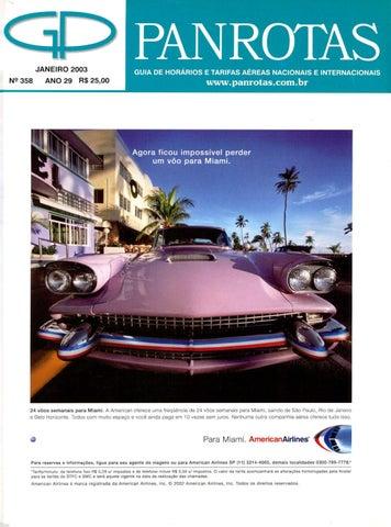 Guia Panrotas - Edição 358 - Janeiro 2003 by PANROTAS Editora - issuu 21384250f14
