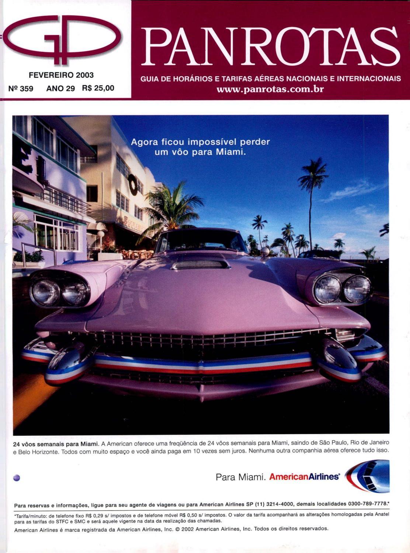 1bb2829078 Guia Panrotas - Edição 359 - Fevereiro 2003 by PANROTAS Editora - issuu