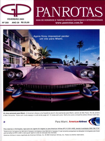 4202b30582 Guia Panrotas - Edição 359 - Fevereiro 2003 by PANROTAS Editora - issuu