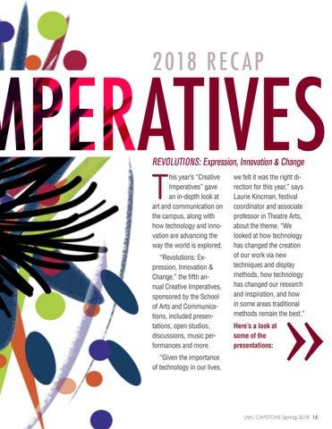 Page 15 of Creative Imperatives 2018 Recap