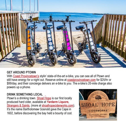 Page 10 of What's new in Provincetown this summer?