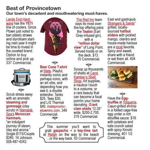 Page 32 of Provincetown Shopping