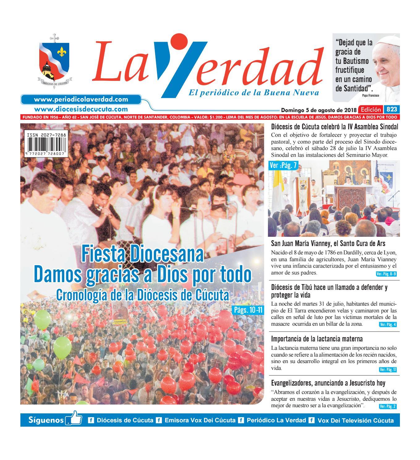 Edición 823 by La Verdad Periódico de la Buena Nueva - issuu