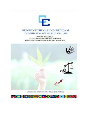 Final Report - CARICOM Regional Commission on Marijuana 2018 Waiting