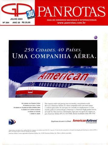 Guia Panrotas - Edição 364 - Julho 2003 by PANROTAS Editora - issuu 7e8750034c