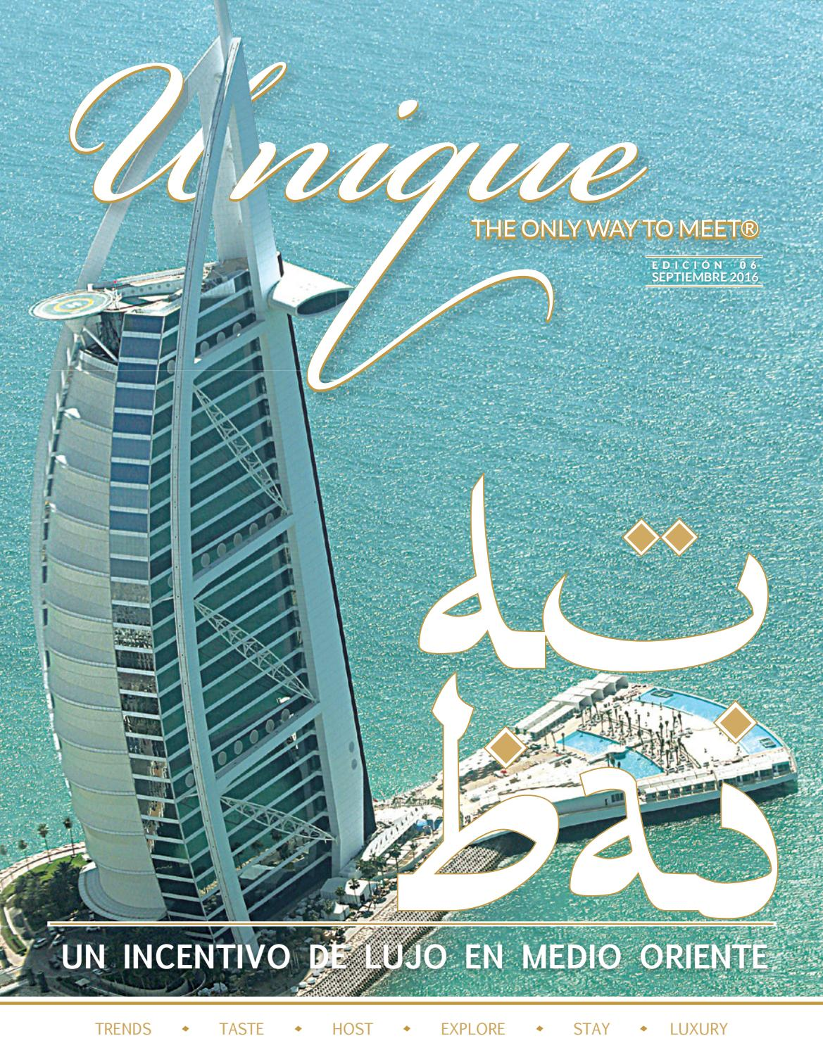 UNIQUE No. 6 DUBAI by L.D.G. STARSKY PALMA - issuu 068843a379e5