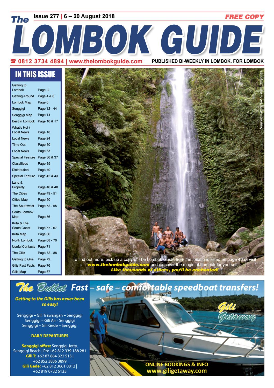 The Lombok Guide Issue 277 by The Lombok Guide - issuu