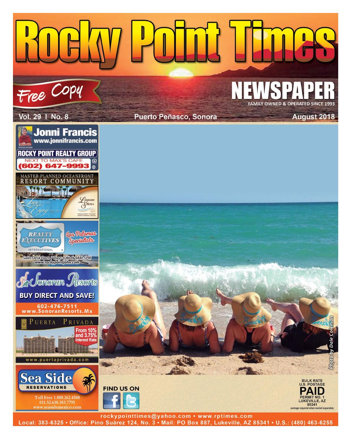 Rocky Point Times - August 2018 by Rocky Point Services - issuu