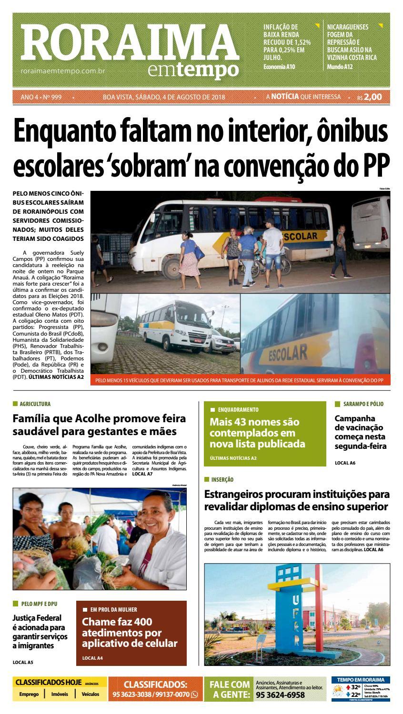 Jornal Roraima em tempo – edição 999 by RoraimaEmTempo - issuu 6036d8bcc58f