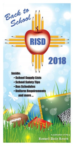 Back To School 8 3 18 By Roswell Daily Record Issuu