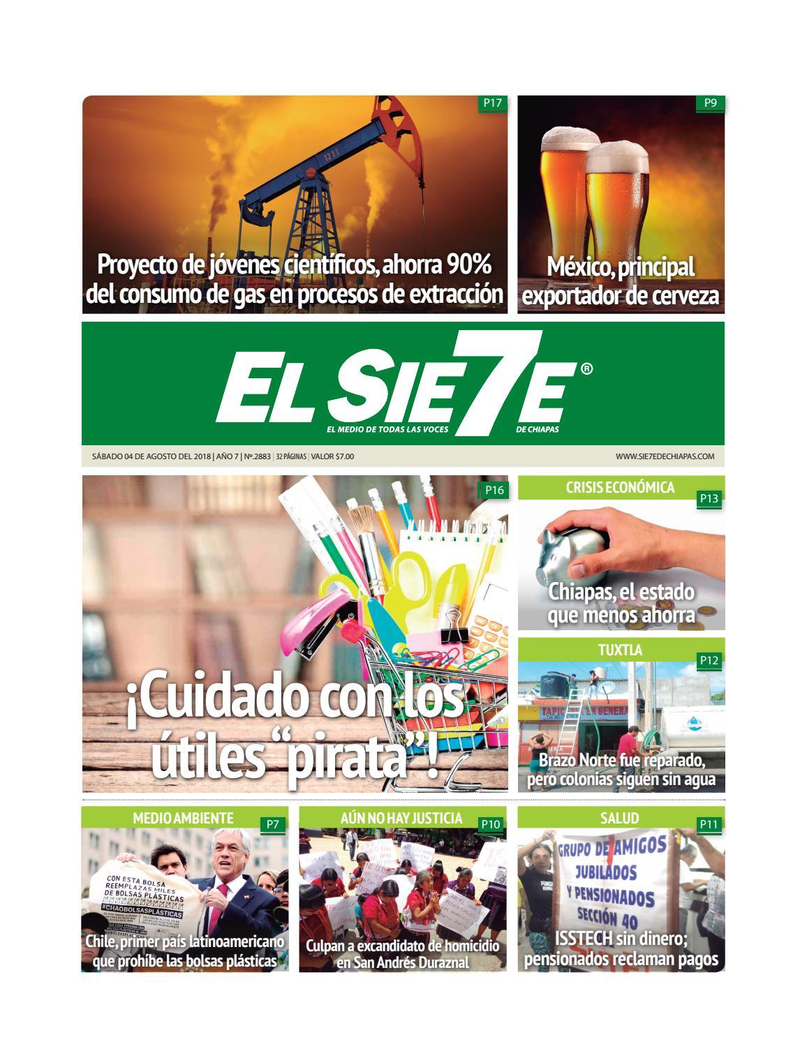 By De El Chiapas Issuu 040818 Sie7e QBeWrCxdo