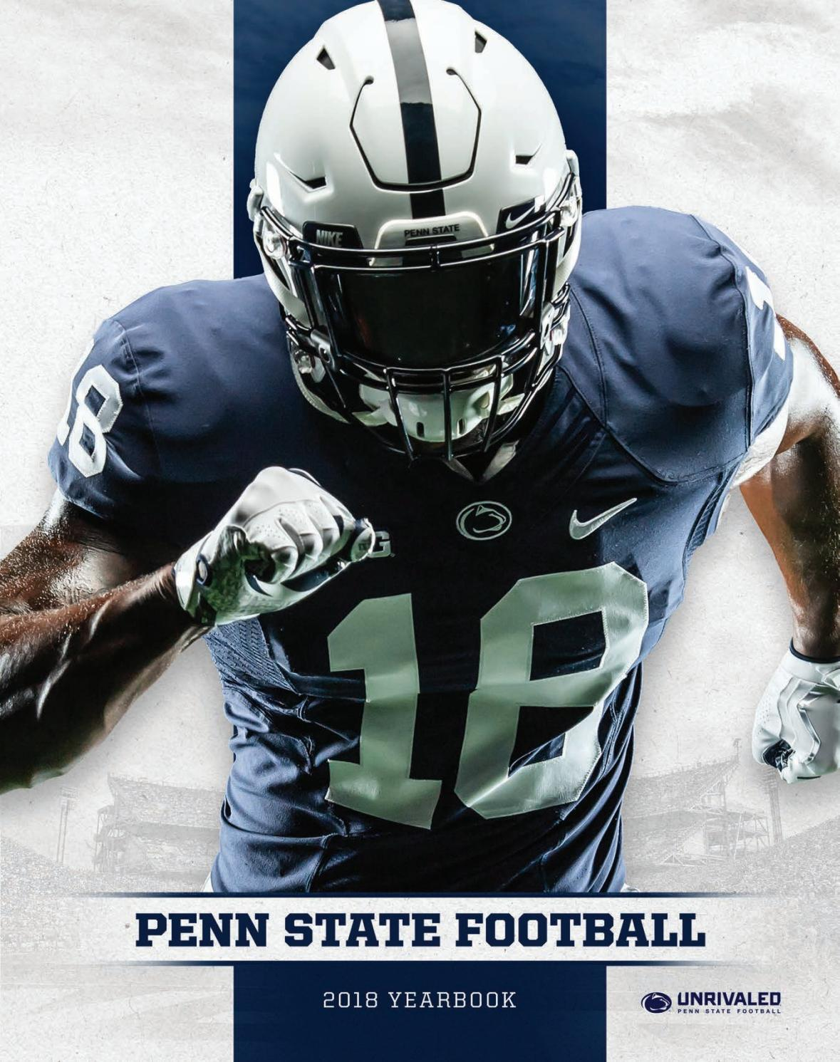 83bcb17c6d11 2018 Penn State Football Yearbook by Penn State Athletics - issuu