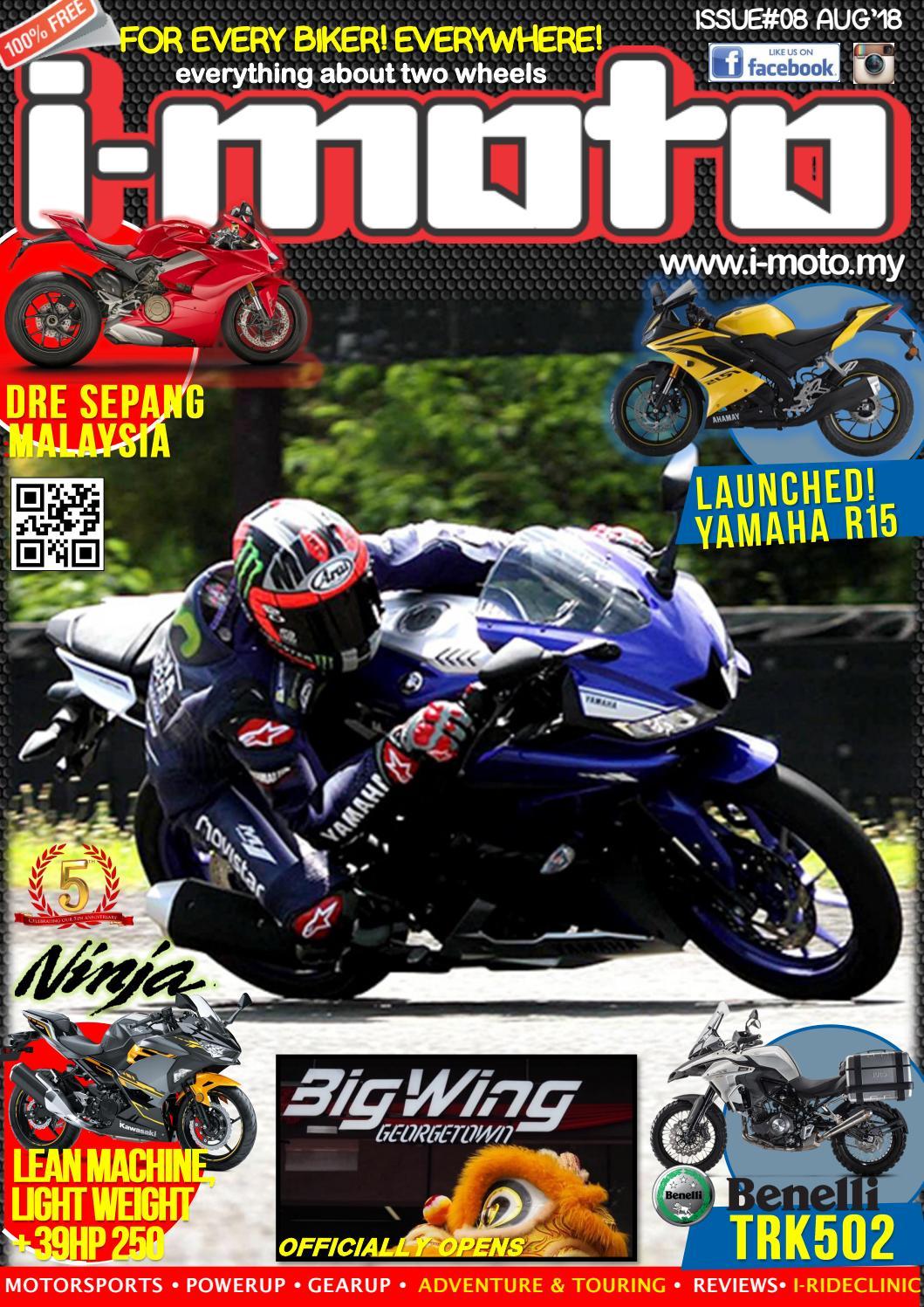 I Moto Emag 08 August 2018 By Media Issuu All New Cbr 150r Racing Red Kota Semarang