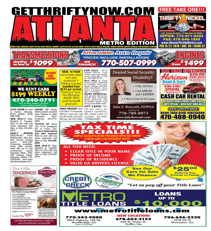 252acc62019b1b Atlanta Thrifty Nickel 2-22-18 by Andrew McCrory - issuu