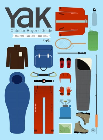 07aee1bf23 Yak Outdoor Buyer's Guide 2015 by Hand Communication - issuu