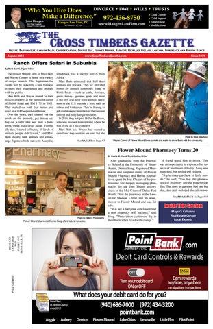 The Cross Timbers Gazette August 2018
