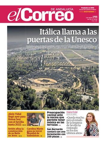 06.08.2018 El Correo de Andalucía by EL CORREO DE ANDALUCÍA S.L. - issuu fa2b0b7700f