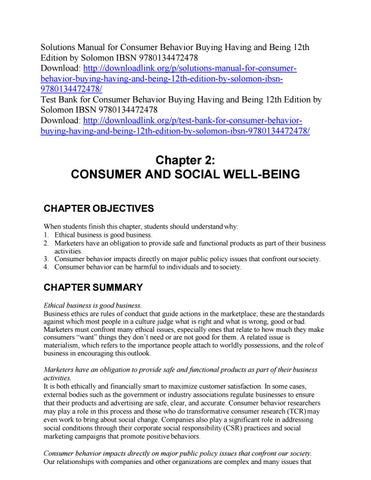 why is consumer behavior important