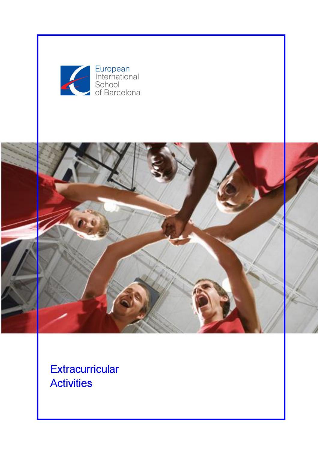 Extracurricular activities 2018-2019 by Europa International School