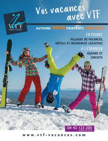 Brochure Printemps 2018 Hiver By Automne Vtf Vacances 2019 L'esprit qrxwvr5t