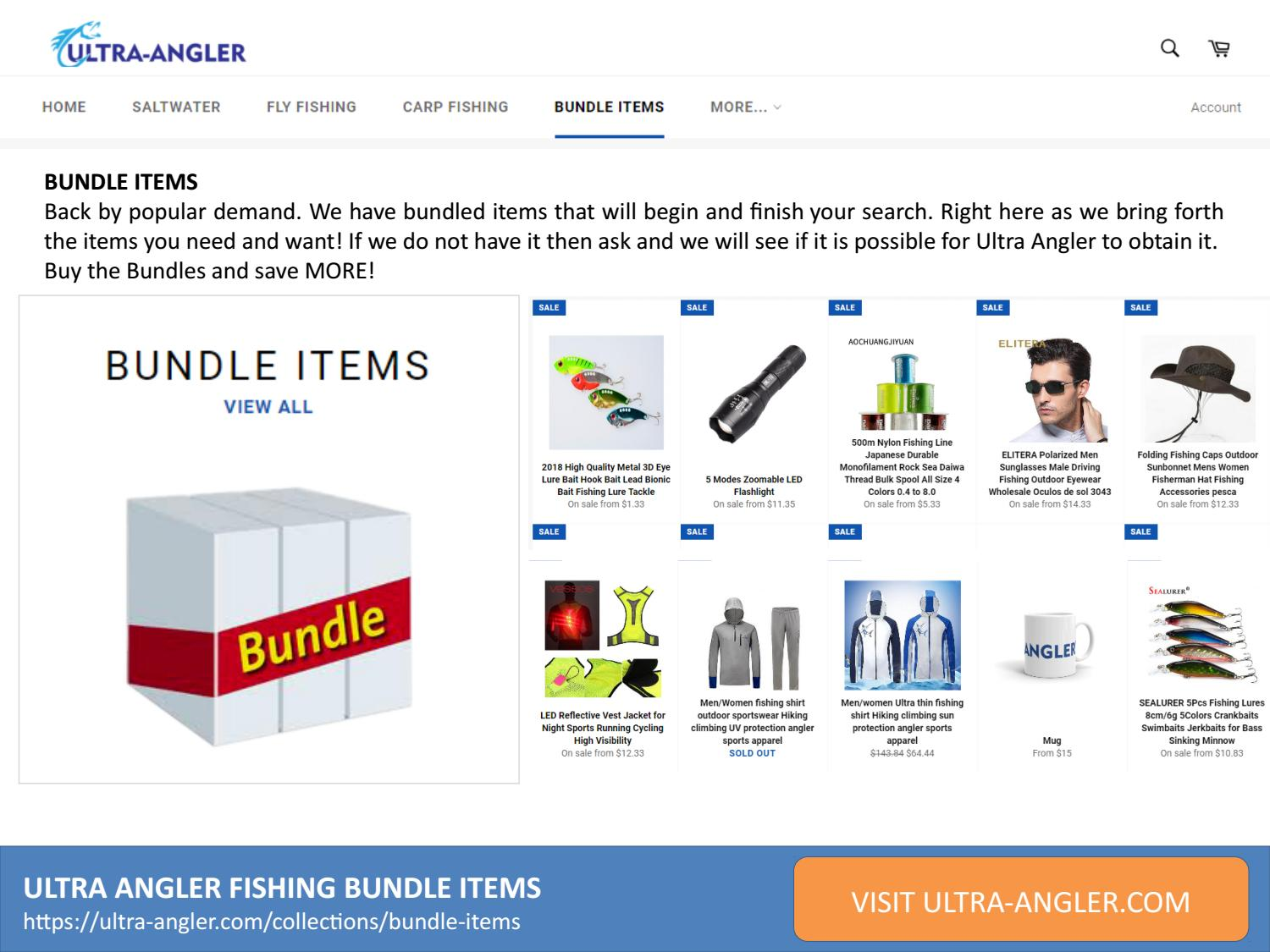 Ultra Angler Fishing Bundle Collections by usadigitalpublication - issuu