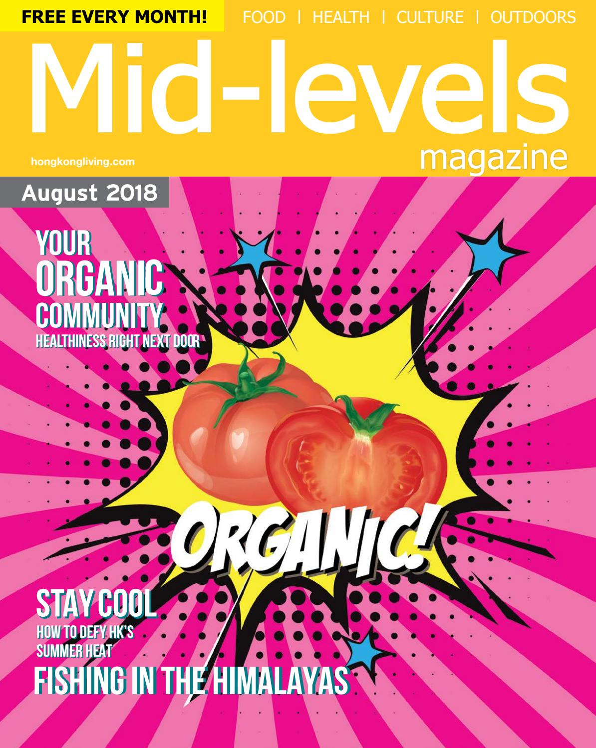 Mid levels august 2018