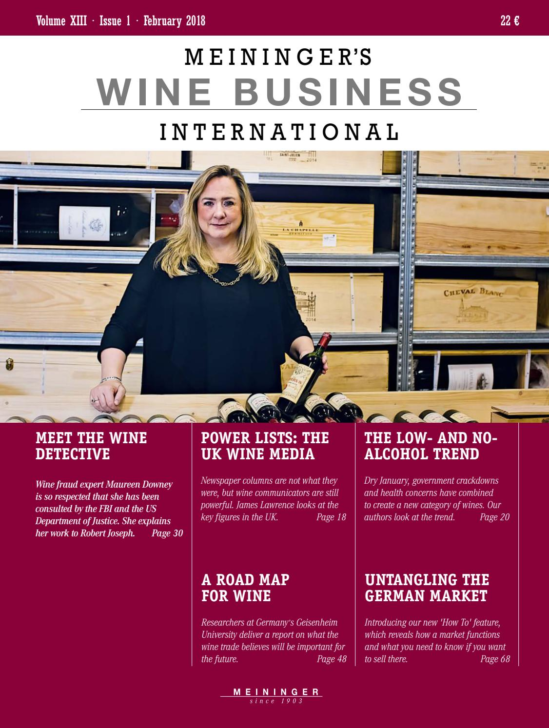 Meininger s Wine Business International - issue 01 2018 by MEININGER ... a8272ffa74b