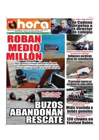 Iquitos 06 de Agosto del 2018 by Jonatan Arias - issuu 04bcf7c0cf147