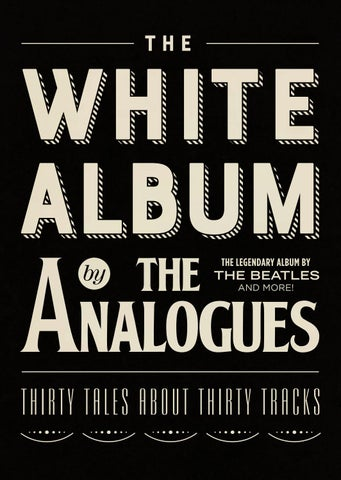 The White Album by The Analogues - English version by The