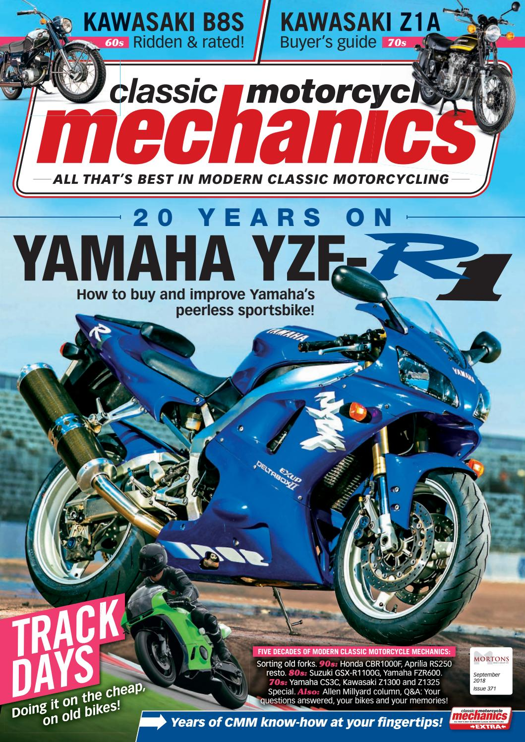 Classic Motorcycle Mechanics September 2018 By Mortons Media Group Honda Goldwing Gl1200 1986 Wiring Diagram Ltd Issuu