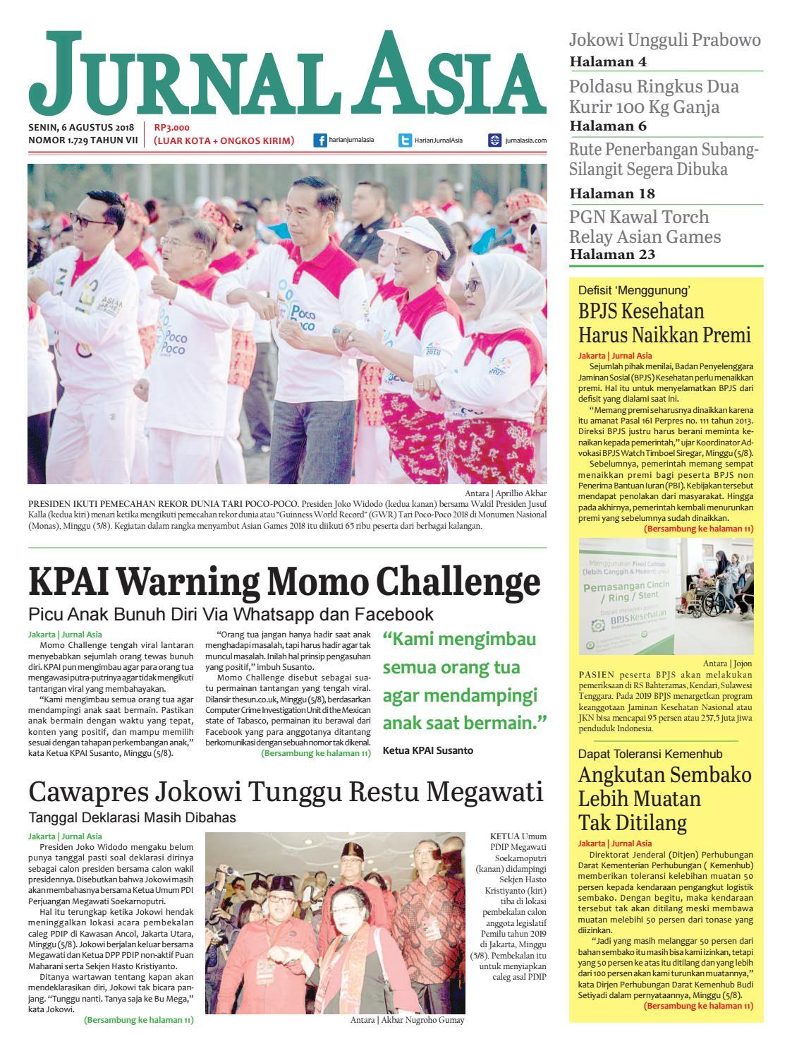 Harian Jurnal Asia Edisi Senin ab9777eaa2
