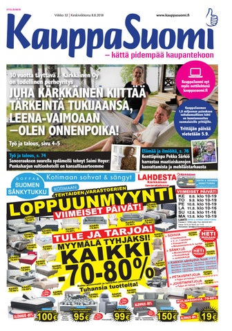 KauppaSuomi 32 2018 (E) by KauppaSuomi - issuu 21fb43cc9a
