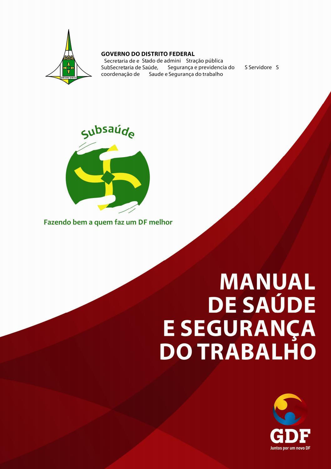 Manual de Saúde e Segurança do Trabalho by jonclash - issuu 9219a80362