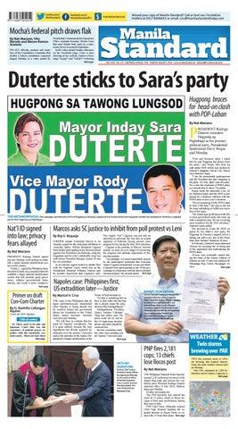 a9d216cfa8f9 Manila Standard - 2018 August 7 - Tuesday by Manila Standard - issuu