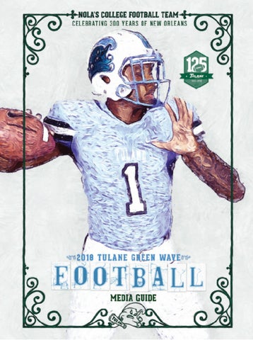 8be425c8715 2018 Tulane Football Media Guide by TulaneGreenWave - issuu