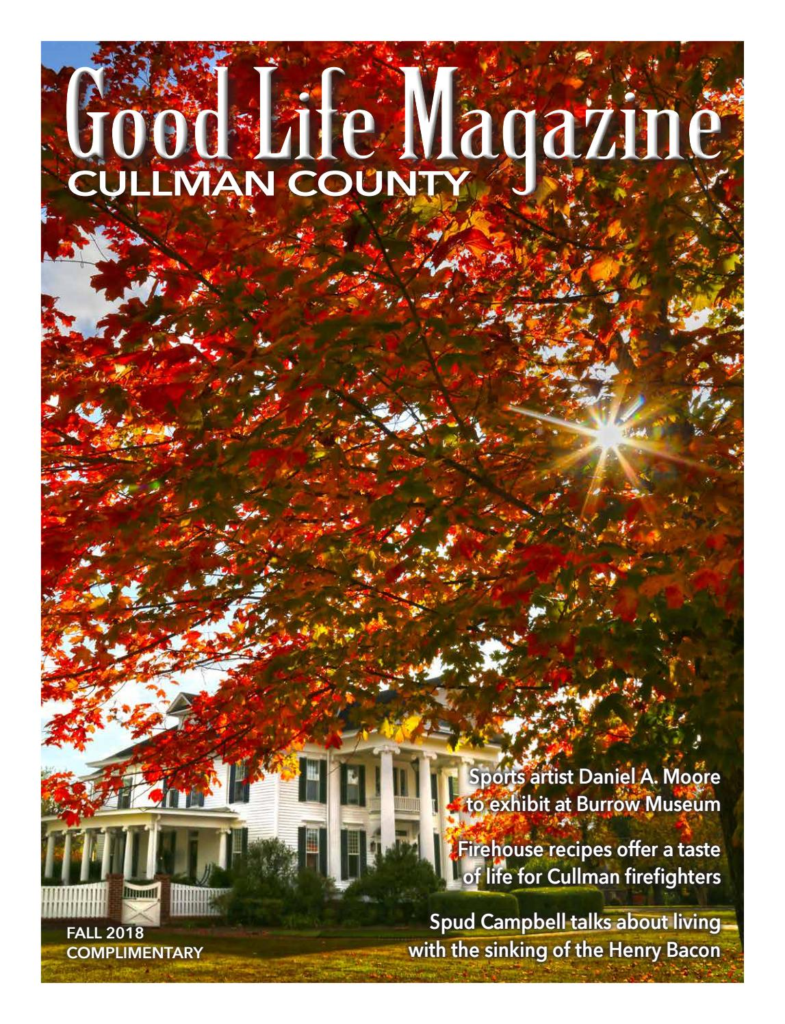 Cullman Goodlife Magazine Fall 2018 By The Good Life Magazine Issuu