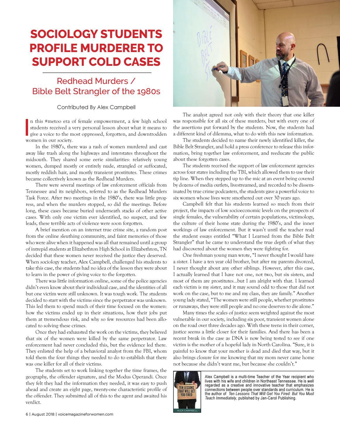 Voice magazine 0818 by Voice Magazine For Women - issuu