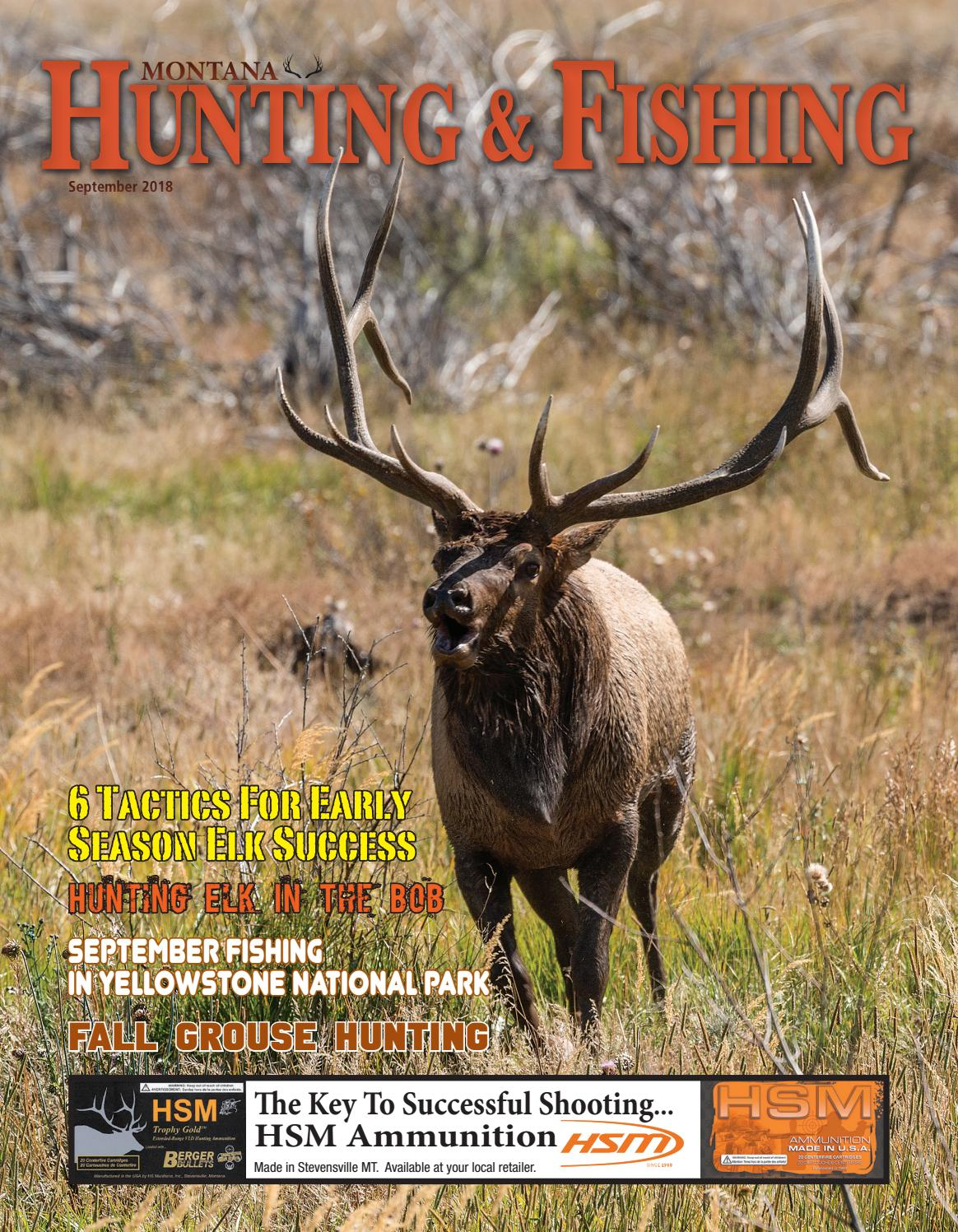 87f7808b9a108b Montana Hunting & Fishing News - September 2018 by Amy Haggerty - issuu