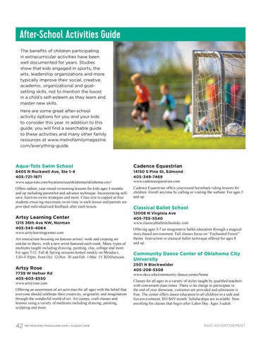Page 42 of After-School Activities Guide