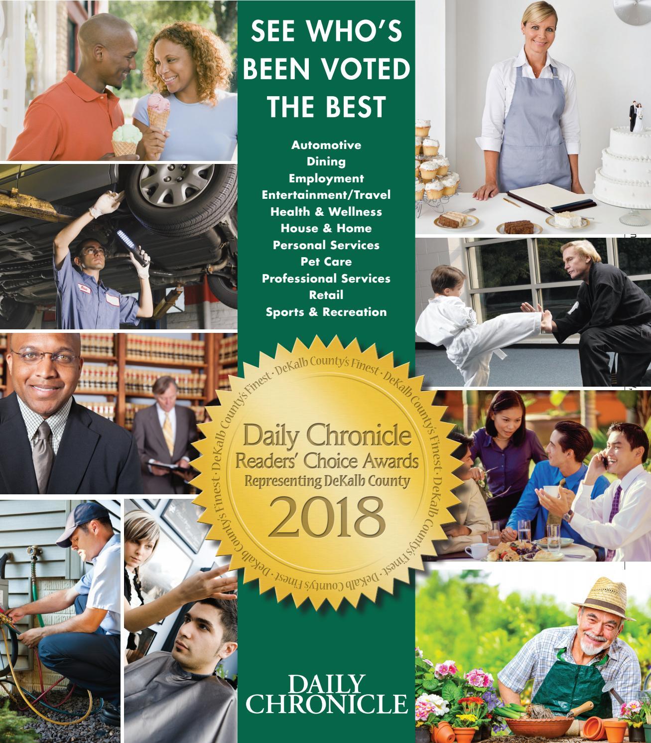 Ddc Dekalb County Finest 2018 By Shaw Media Issuu