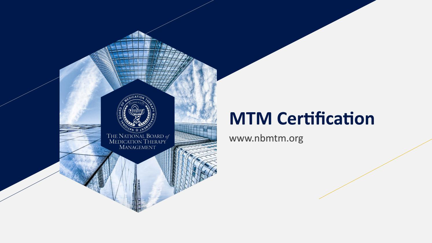 Mtm Certification By Steve Erickson Issuu