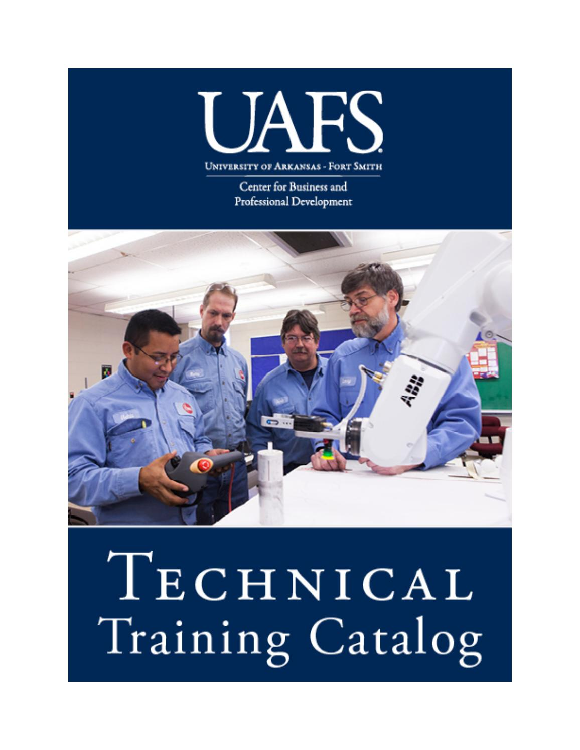 CBPD Technical Training catalog by University of Arkansas