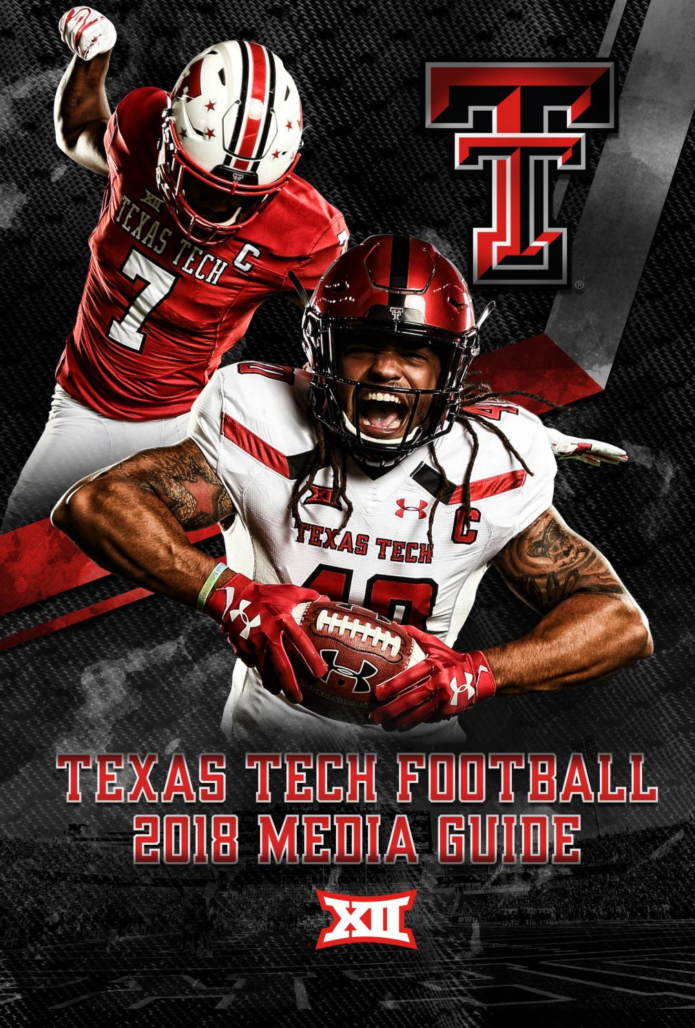 2018 Texas Tech Football Media Guide by Texas Tech Athletics - issuu bea25bc8c